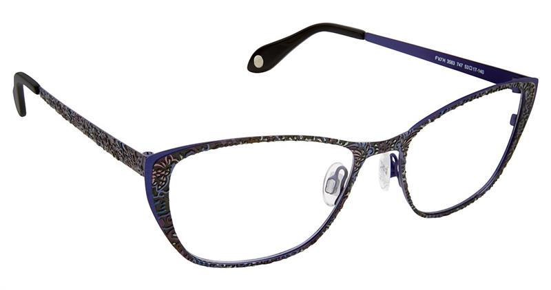 Fysh Cat Eye Glasses